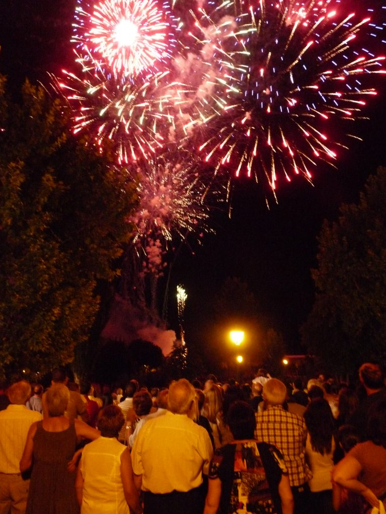 Fuegos artificiales de la Feria y Fiestas